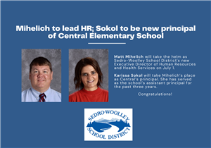 Mihelich and Sokol take on new roles