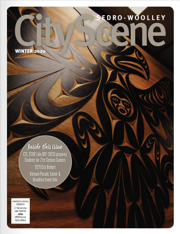 City Scene Magazine Cover
