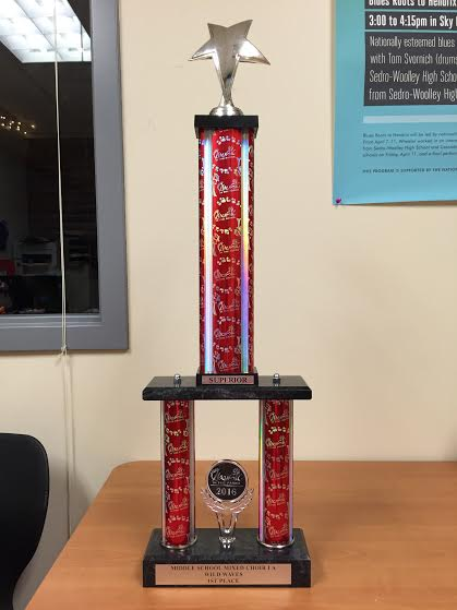 Music in the Parks Trophy-June 2016