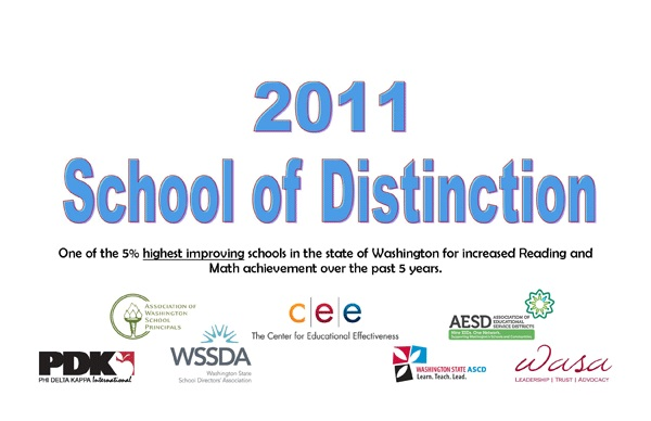 2011 School of Distinction