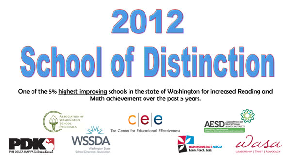 2012 School of Distinction