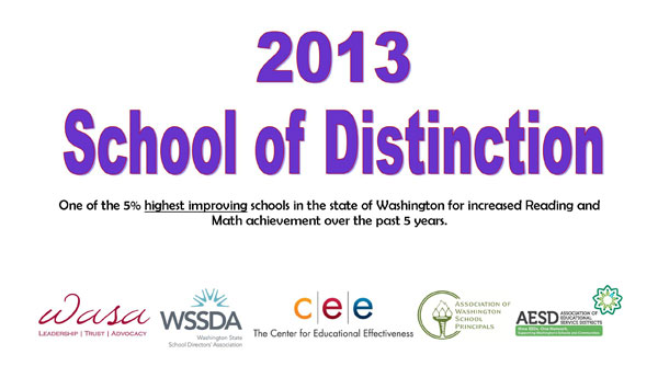 2013 School of Distinction
